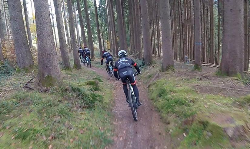 Trailspaß mit HelmutsRSC-Gang