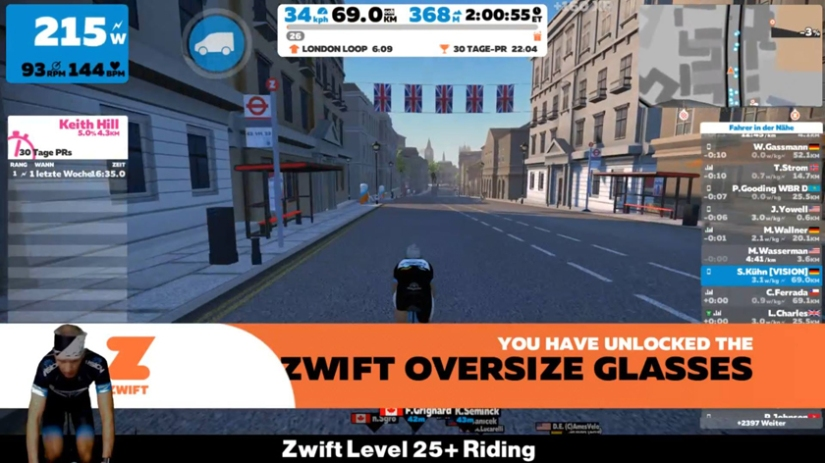 Zwift Level 26 +