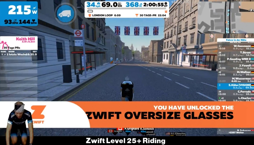 Zwift Level 26 – 50