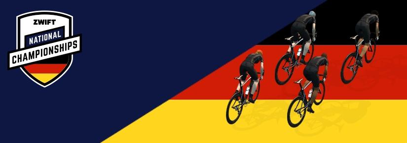 Ingo Reichart Sieger der Deutschen Meisterschaft auf Zwift2019